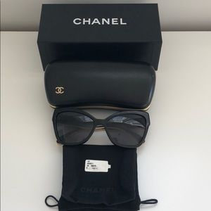 Chanel eye cat sunglasses